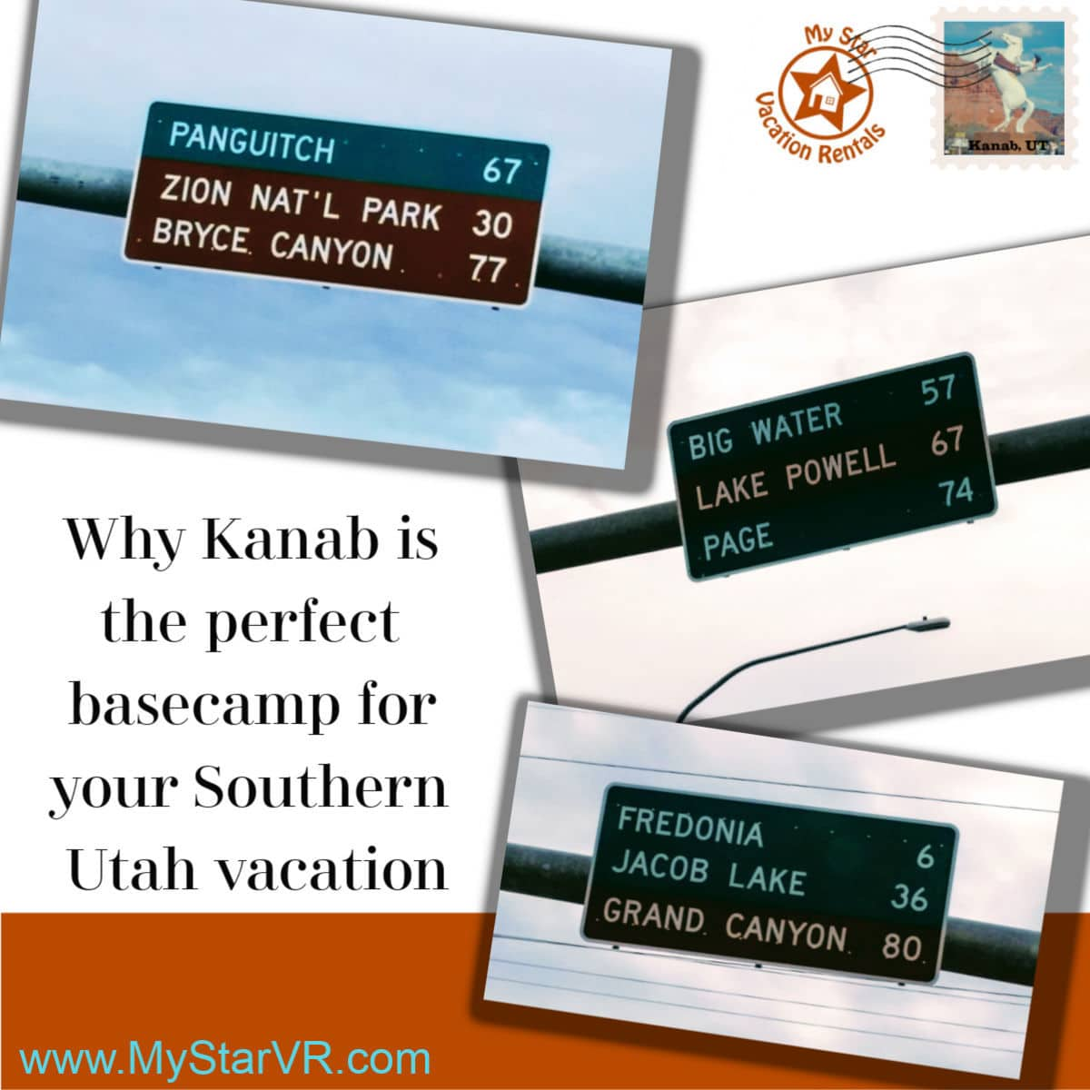 How far is it to the parks from Kanab Utah