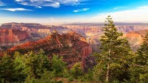 View of Grand Canyon North Rim near Kanah Utah Vacation Rental