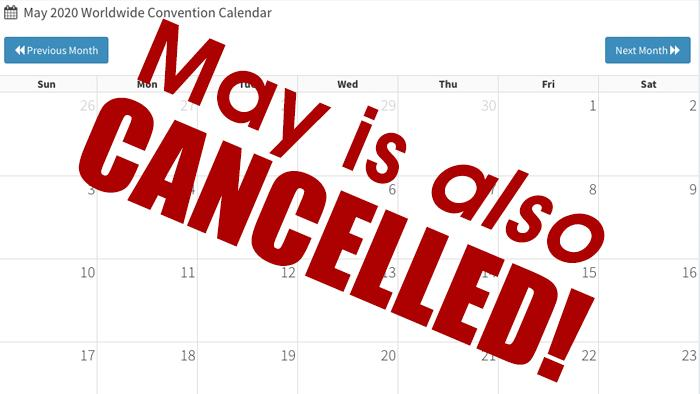 May is cancelled