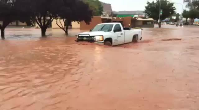 Kanab Utah flood