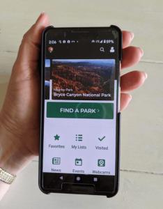 National Park app