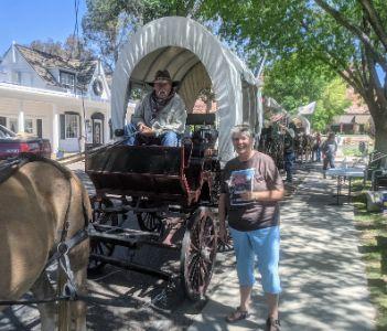wagon train, Western Legends Kanab Utah