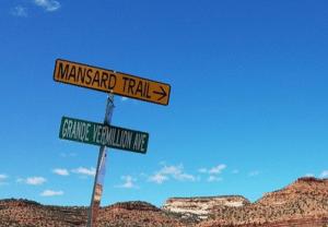 Mansard hiking trail kanab utah