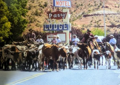 Western Legends High Noon Parade Kanab Utah